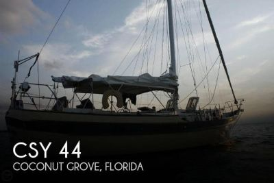 1979 CSY 44 Mid-cockpit cutter