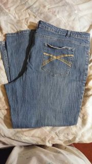 Cato women's size 26 stretch jeans. $5