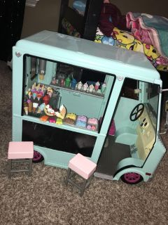 Our Generation/American Girl Ice Cream Truck