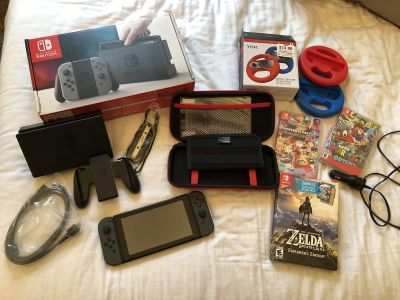 Brand New Nintendo Switch Gaming package ! Value of $567