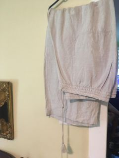 New without tags lane Bryant linen pants 18/20
