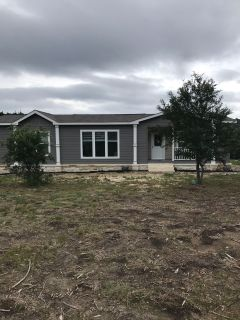 3/2 new manufactured home on 5.5 acres for sale