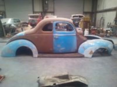 1940 ford coupe & chassis
