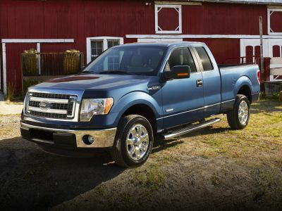 2013 Ford F-150 King Ranch (Oxford White)
