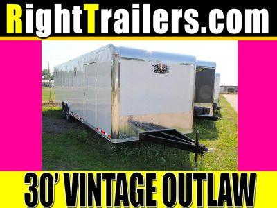 8.5x30 Vintage Outlaw | Race Car Trailer