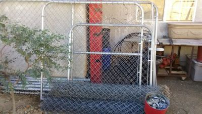 Chainlink fencing and gates