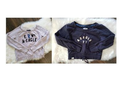 2 American Eagle Sweatshirts/Pullovers - Size Large