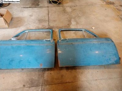 65 Notch Parts Doors, Fenders, low backs, Deck lid