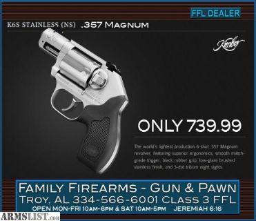 For Sale: Kimber K6s .357 Magnum Revolver at ONLY 739.99