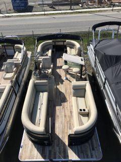 2018 Crest Marine CREST II 250 SLE Pontoons Boats Ponderay, ID