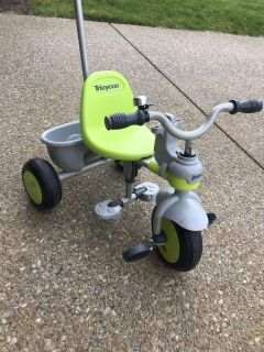 Joovy Tricycoo Tricycle w/ Parent Push Handle