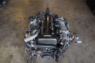 JDM TOYOTA 2JZ GTE 6 SPEED V161 ENGINE SWAP JZA80 SUPRA