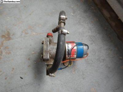 Holley Blue Pump Used