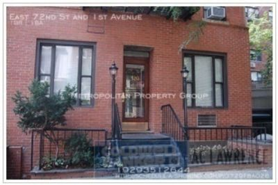 Upper East Side - Extremely Affordable 1 bedroom Steps To the Subway;  Exposed brick