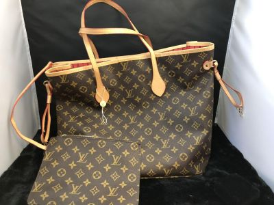 LV Neverfull Tote New Never Used