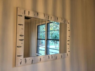 Beautiful wooden mirror! Like new!