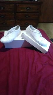 """Size 43/9.5 our 10 Common Project Shoes """"Orig Achilles low white"""