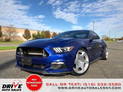 2015 Ford Mustang 2dr Fastback GT (Deep Impact Blue Metallic)