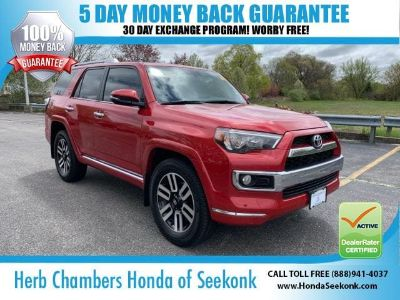 2016 Toyota 4Runner SR5 (Barcelona Red)