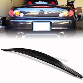 Sell JDM VS Style Real Carbon Fiber Trunk Spoiler Wing For 00-09 Honda S2000 AP1 motorcycle in Rowland Heights, California, United States