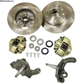 Empi B/J, 5/130 2.5 Drop Front Disc Brake Kit