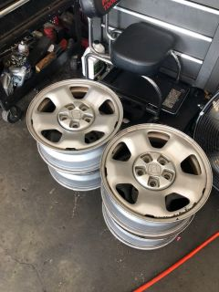 17 inch Honda Ridgeline steel wheels