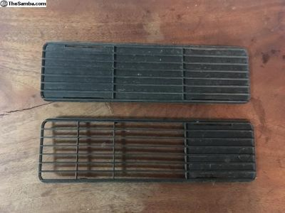 Early Rabbit lower grills