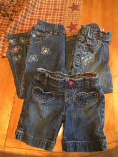 Girls 3t jeans/shorts-all for $2