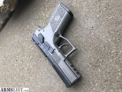 For Sale: New cz p07 od green with factory night sights