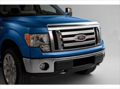 Find 2009-2014 Ford F-150 Chrome Hood Protector Bug Shield Deflector OEM NEW motorcycle in Braintree, Massachusetts, United States, for US $114.88