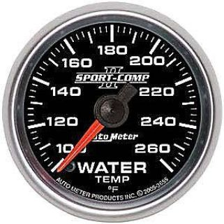 Find AutoMeter 3655 Sport Comp II Elec Water Temp Gauge motorcycle in Suitland, Maryland, United States, for US $173.90