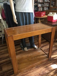 Small wood shelf - Marcus Pointe Thrift Store