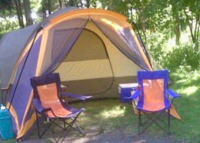 Camping Tent a Good size for Queen Bed and a Separate Front Room $175.00