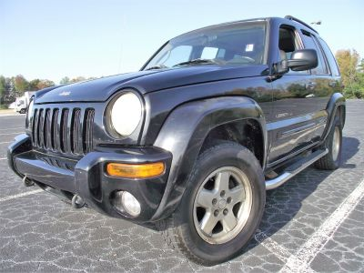 2002 Jeep Liberty Limited (Black)