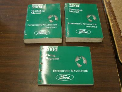 Find OEM Ford 2004 Lincoln Navigator + Expedition Shop Manual Book + Wiring Diagram motorcycle in Evansville, Indiana, United States, for US $109.00