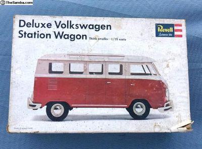 1967 VW Micro Bus Revell 1/25 Model Kit Original