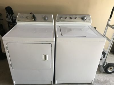 Maytag supersize capacity washer and dryer