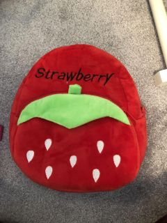 Strawberry Toddler Backpack