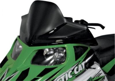 """Purchase POWERMADD/COBRA 12925 WINDSHIELD 14.75"""" BLK ARC motorcycle in Plymouth, Michigan, United States, for US $96.85"""