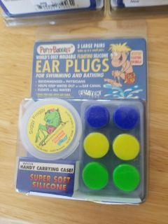 3 Brand New Packages of Putty Buddy Ear Plugs