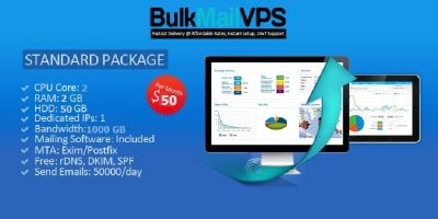 SMTP server, bulk & marketing email service