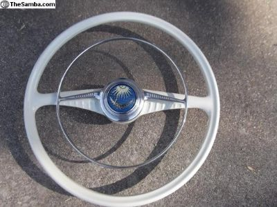 50-55 Wheel w/Full Circle Accy Horn Ring