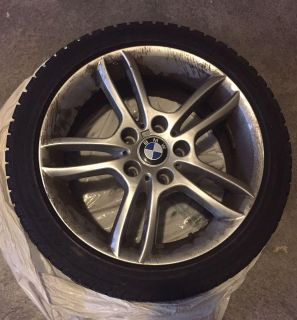 BMW winter tires with rims