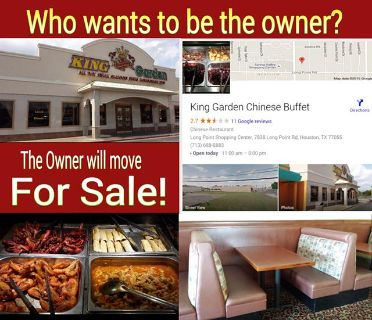 $95,000, Chinese Buffet restaurant for sale