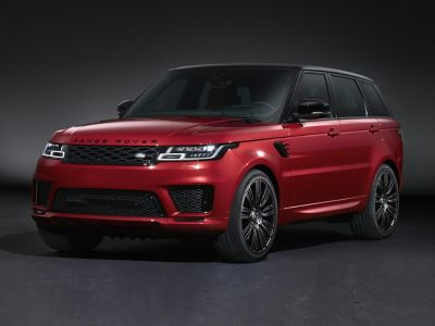 2019 Land Rover Range Rover Sport Supercharged (Black)