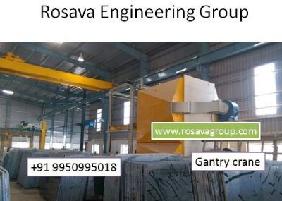 Gantry Crane Exporter Algeria Rosava group