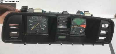 86-91 Vanagon Instrument cluster with 2wd odometer