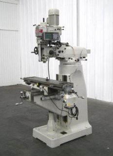 Vertical milling Machine 48 Table Dro Great Machine