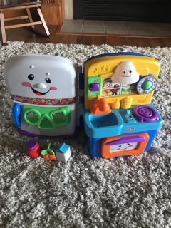 Fisher Price Table Top Plat Kitchen